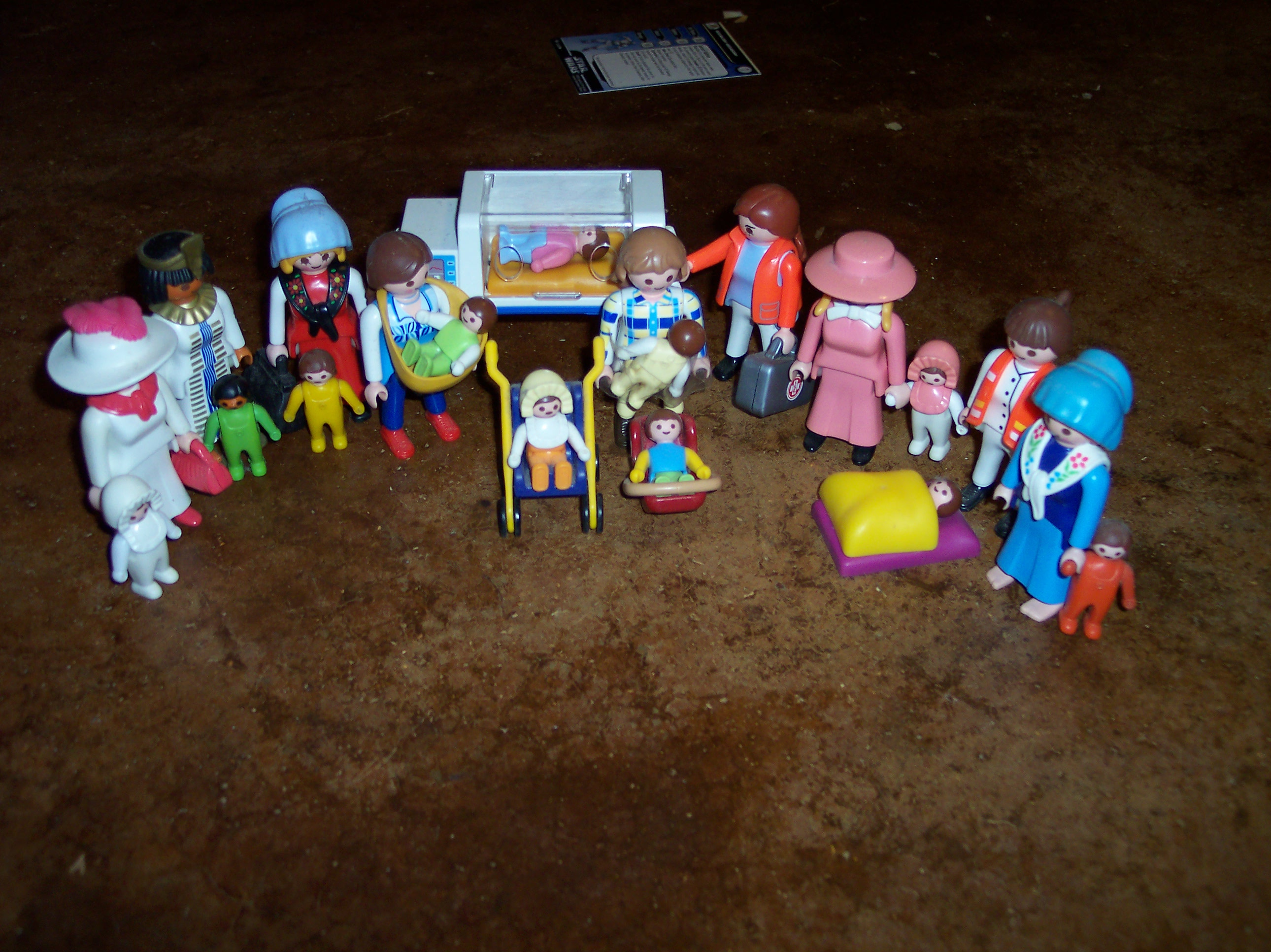 Wordless Wednesday: Playmobil Babies