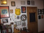 Birth art gallery way in my hallway at home