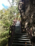 Check out these stairs down into Grand Gulf!