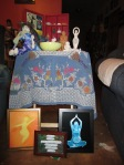 Birth altar of blessingway birth art gifts during blessingway