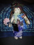 Collaborative birth doll from my blessingway.