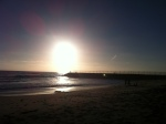 Sunset in Carlsbad.
