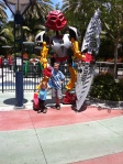 This was cool! Alaina was too small for this tea-cup-esque Bionicles ride though and that was disappointing.