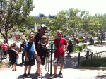 Posed at Miniland!