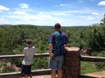 Scenic overlook at Elephant Rocks.