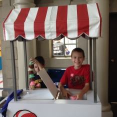Ice cream shop!