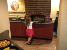 I liked the pizzeria best!