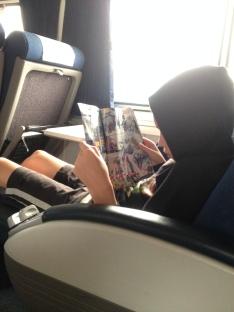 Boys enjoyed their Lego Club magazines.
