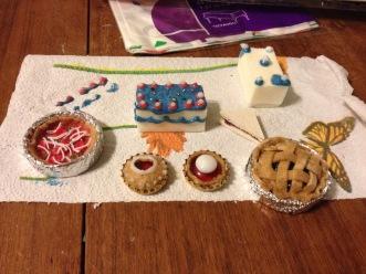 Tiny food prototypes