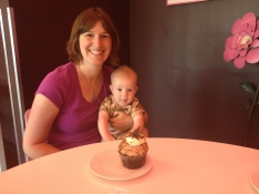 Jilly's Cupcake Bar for mama's birthday!