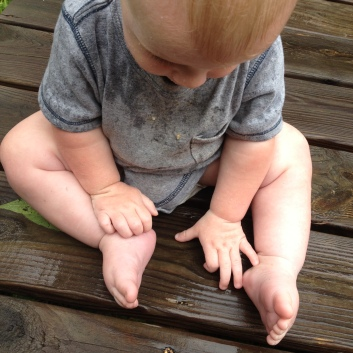 Look at those hands and feet!