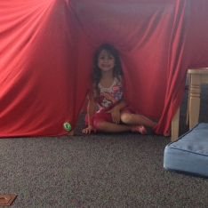 Build-your-own fort rom was new to us and SO much fun.