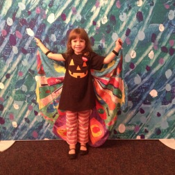 Enjoying the new Eric Carle exhibit room